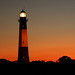 Tybee Lighthouse at Dusk by Rachel Pennington