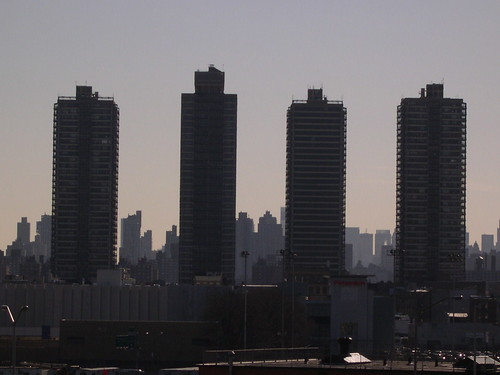 View to Manhattan from the South Bronx