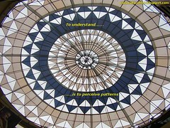 symmetry, ceiling, circle, dome, stained glass,
