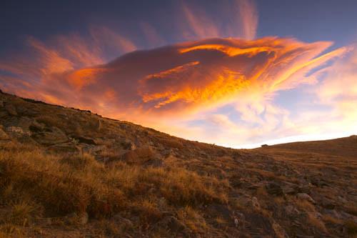 Lenticular Cloud, Rocky Mountain National Park