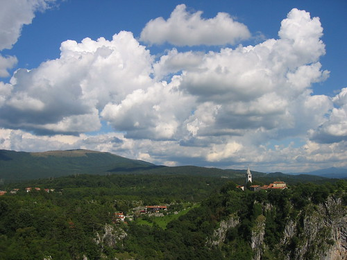 sky clouds landscape day cloudy slovenia škocjan