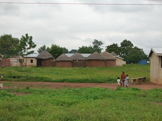 Typical huts in Northern Ghana