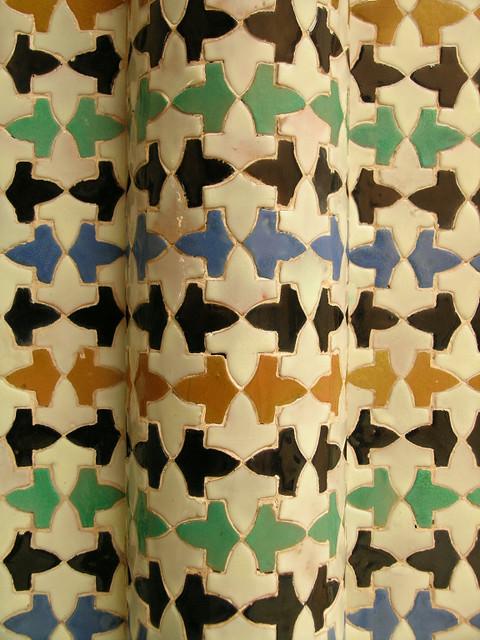 azulejos in la Alhambra