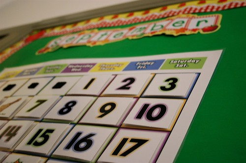 First Day: calendar