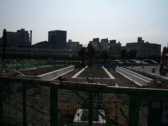 Construction site of Toyama Light Rail 9/17 #3