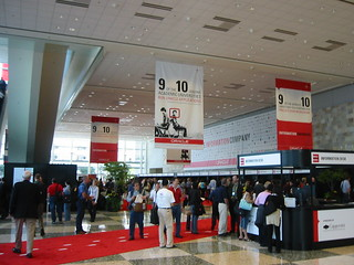 Registering for Open World 2005 at Moscone West