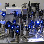Frequency quadrupled IR laser, lights on