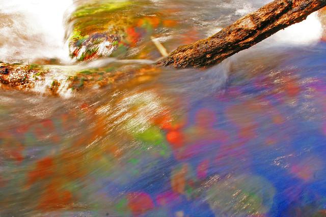 saturated stream