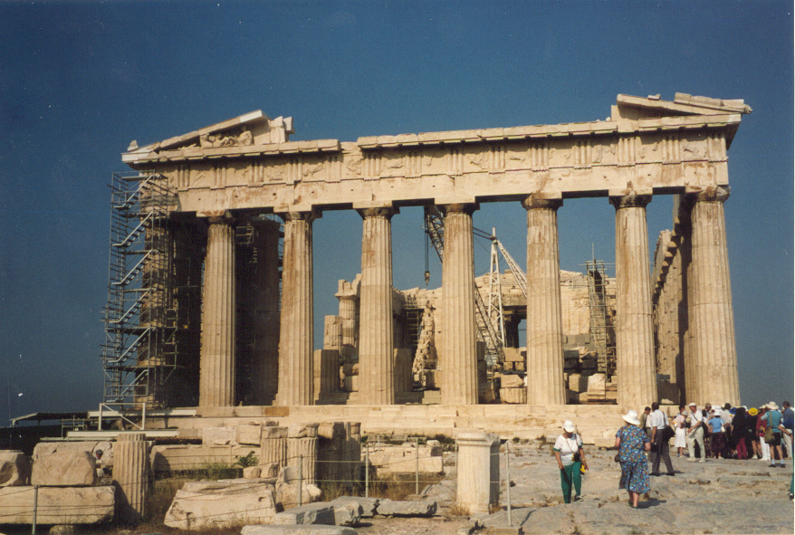 Parthenon, Athens Greece 1993