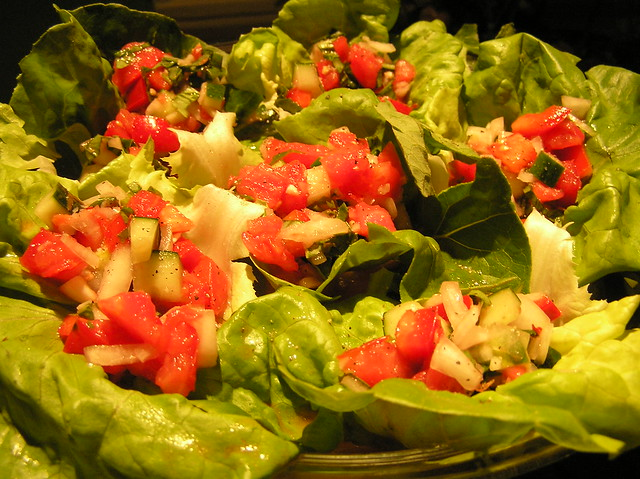 Gazpacho Salad | Flickr - Photo Sharing!
