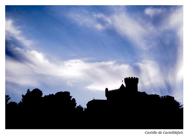 Castillo de Castelldefels.