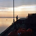 Small photo of Sunset, Aberdyfi harbour