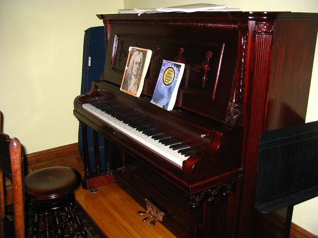 Pianino w domu