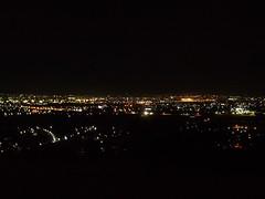 night view from Toyama Joyama