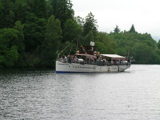 Scotland Steam Boat Perthshire