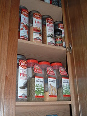 wood, food, pantry,