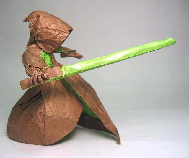 Jedi paper folding