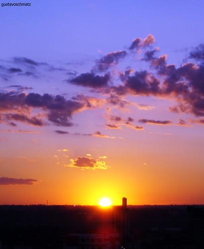 brazil sun sol clouds paraguay nuvem por foz iguassu