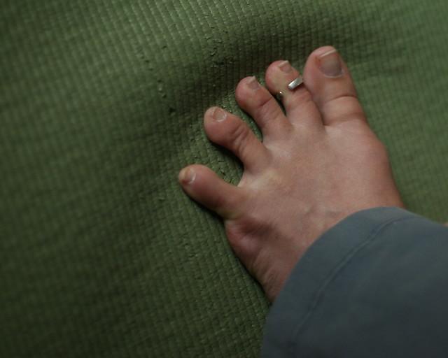 Emily's foot (again)