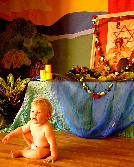 Baby Naming Ceremony Decoration