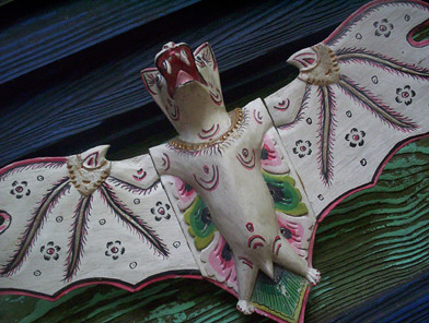 Indian Bat by Ape Lad