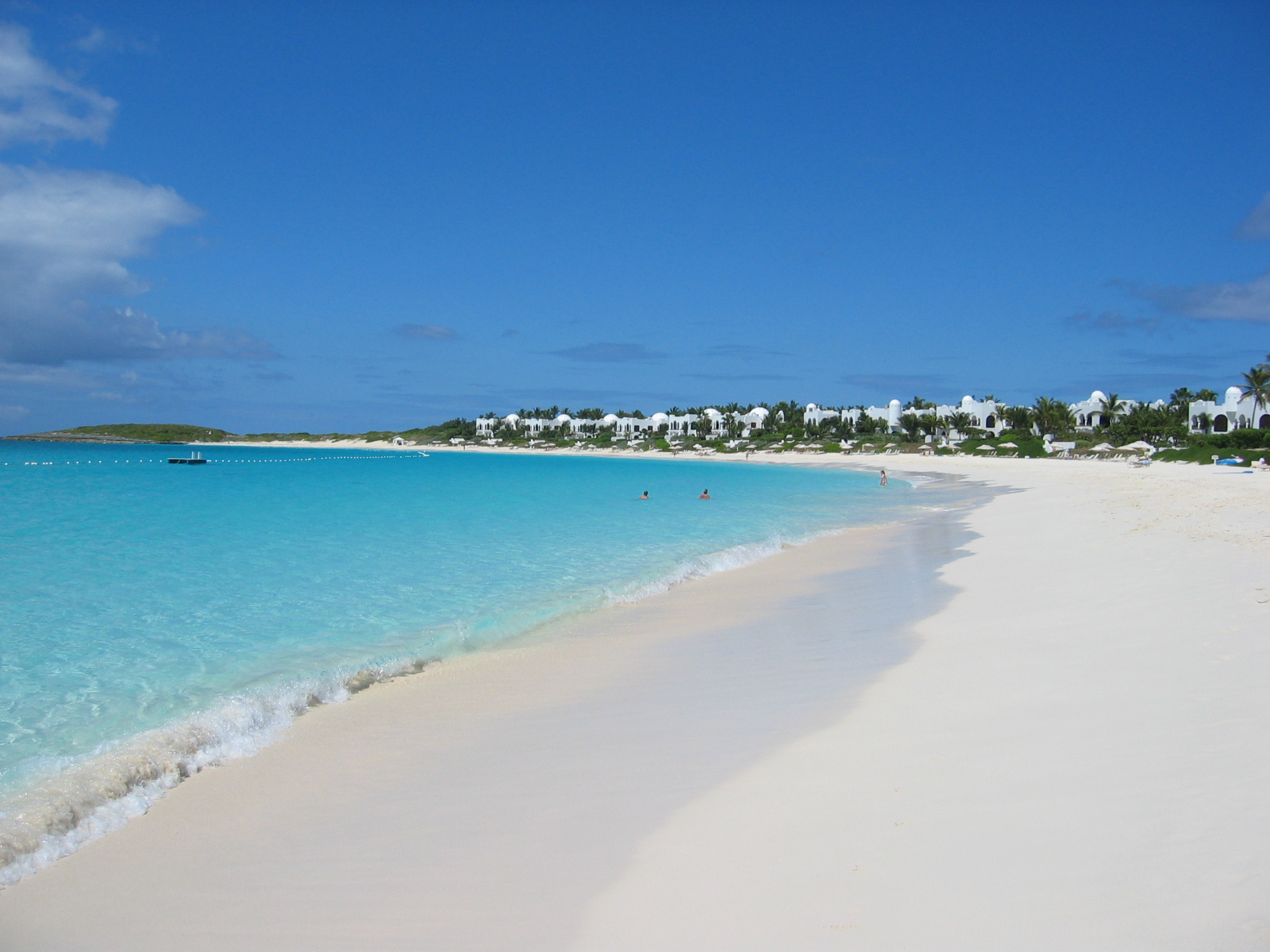 Beautiful Maundays Bay Cap Juluca - Anguilla
