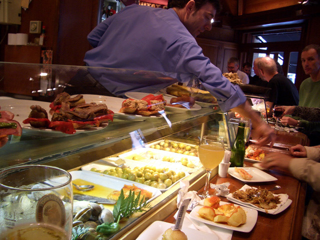 Tapas bar in Barcelona