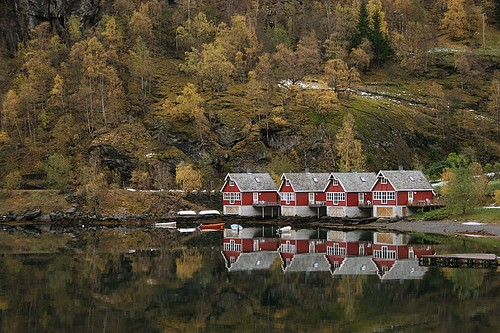 Flam - Autumn - Norway
