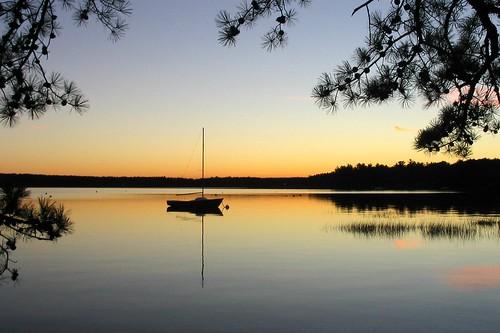 lake wow boat top20sunrisesunset auburn nh lakemassabesic massabesic geo:lon=71373646 geo:lat=43012022 03032 interestingness173 i500