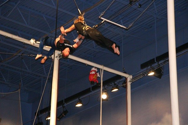 Trapeze School New York Beantown at Jordan's Furniture