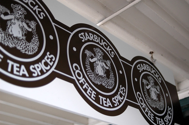 Starbucks Siren Travel Tumbler Mug Anniversary Edition Milton Glaser