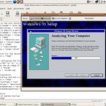 Windows 95 on Linux