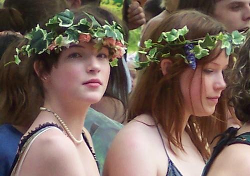 kawkawpa faeries fairies fairy faery portrait magic faerie art nouveau fantasy