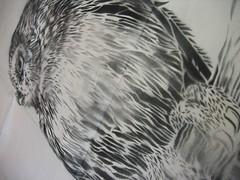 Owl Stencil (detail)