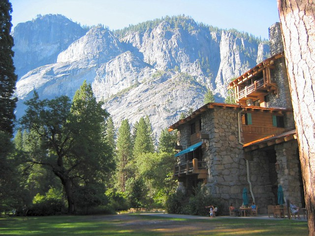 Awahnee lodge in yosemite valley flickr photo sharing for Yosemite valley cabins