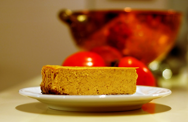 Spiced Pumpkin Cheesecake | Thanksgiving dinner dessert. It ...