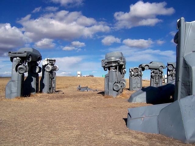 Carhenge-Alliance-Nebraska-by-sandstep-via-Flickr