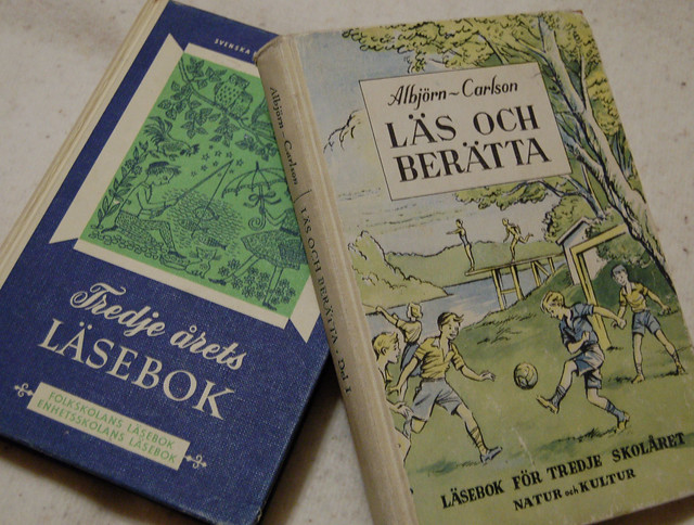 Swedish school books #vintagebooks
