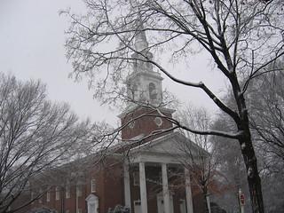 SBTS Alumni Chapel in the snow