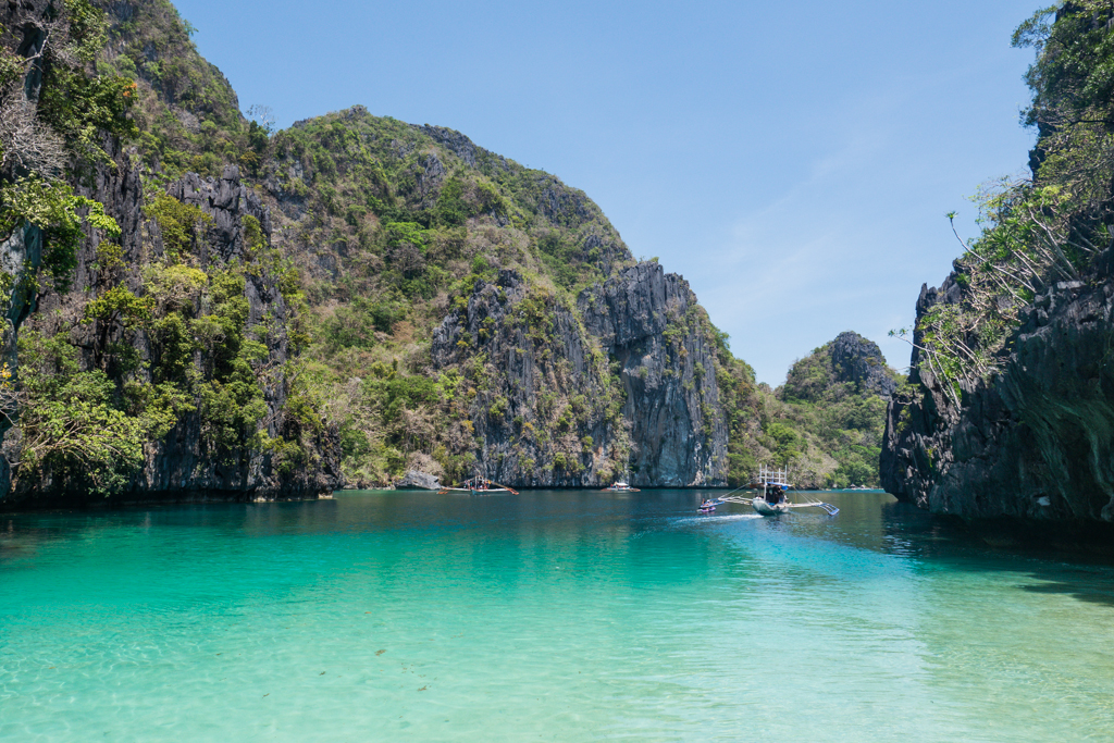 Limestone karsts and a lagoon on Tour A of Island Hop tour from El Nido, Palawan, Philippines-4