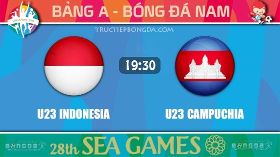 U23 Indonesia vs U23 Campuchia