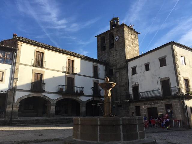 Plaza de San Martín de Trevejo (Extremadura)
