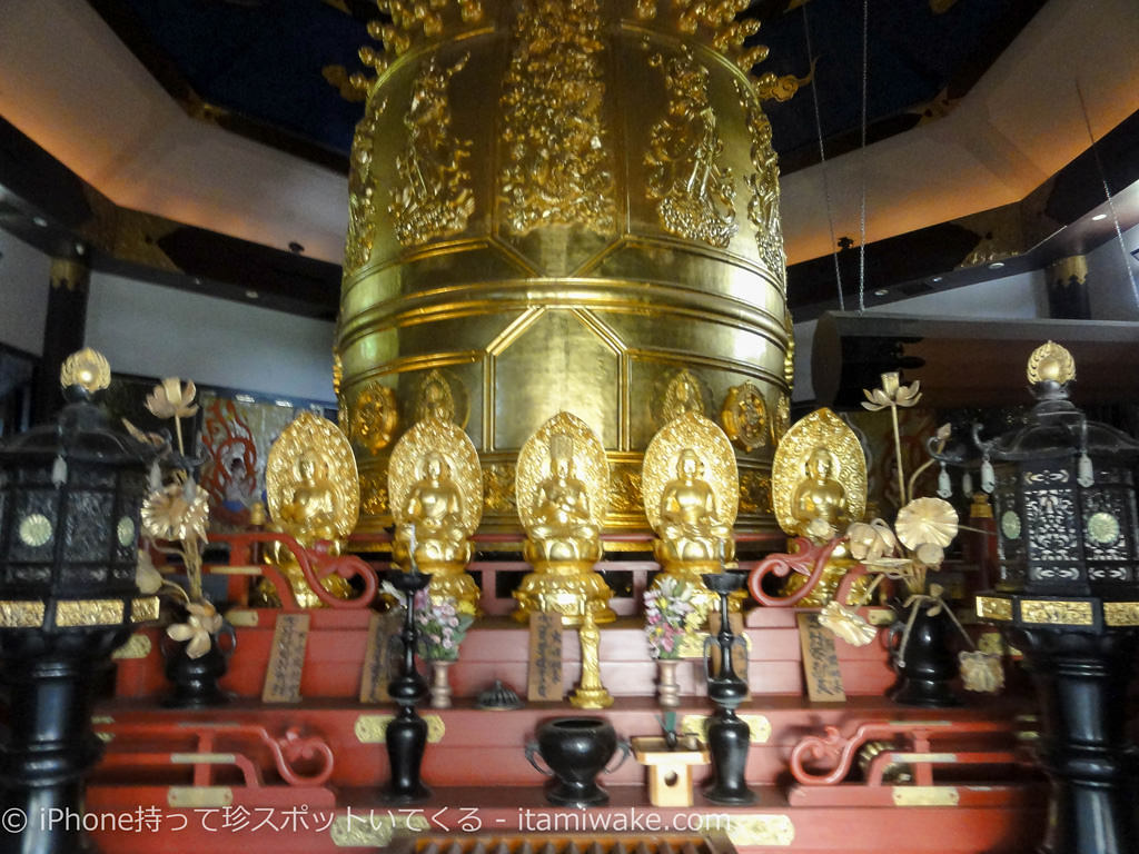 世界一大きな梵鐘