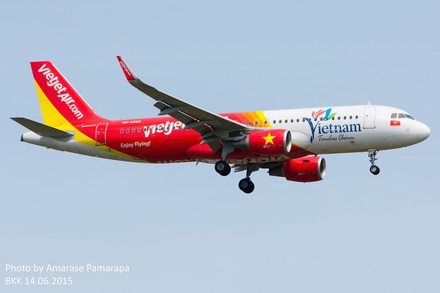 VN-A696 // Vietjet Air Airbus A320-214