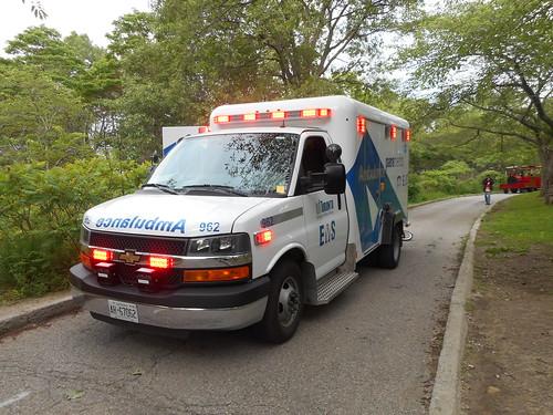 Toronto EMS on Scene