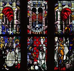 Thann, église, vitrail