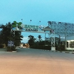 Koh Samui Airport USM at 6am today