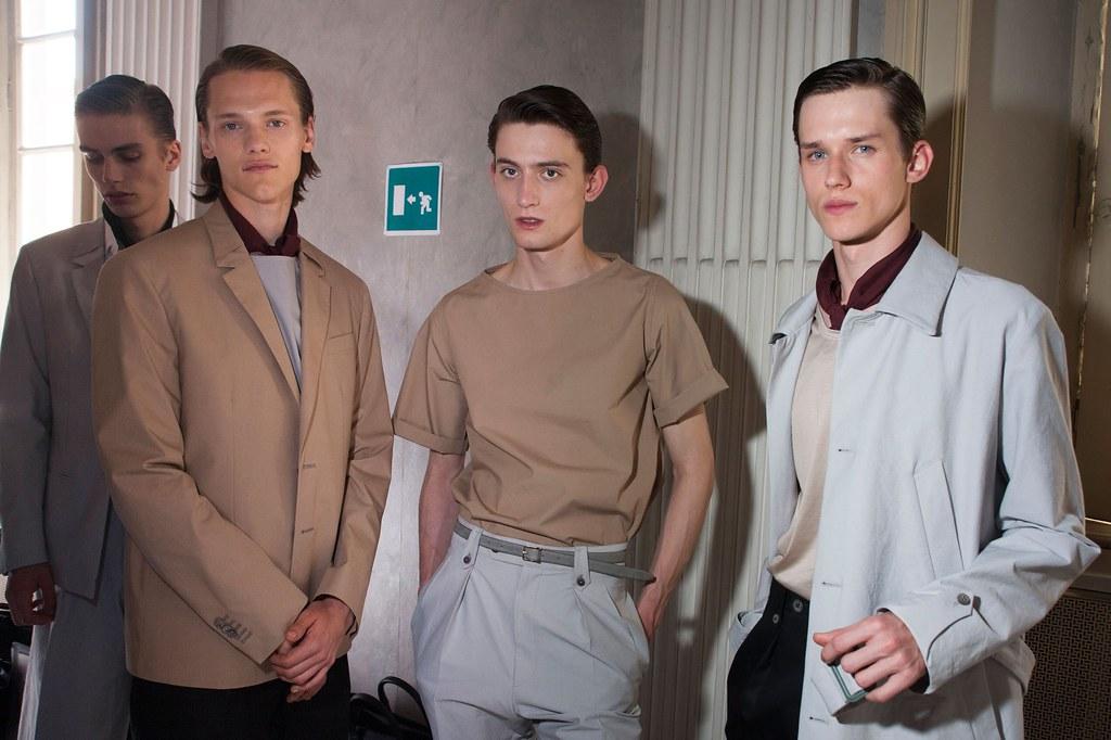 Yulian Antukh(Antuh)3166_SS16 Milan Corneliani_Marc Schulze, Ryan Keating, Yulian Antukh(fashionising.com)