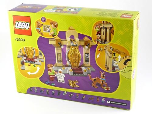 LEGO Scooby Doo 75900 Mummy Museum Mystery box02