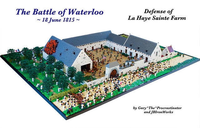 Battle of Waterloo's Defense of La Haye Sainte Farm